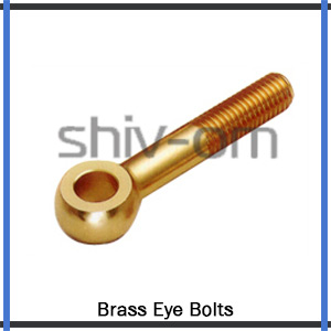 Brass Eye Bolts Exporter