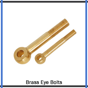 Brass Eye Bolts Supplier