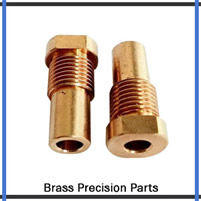 Precision Turned Brass Components